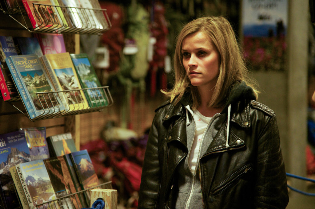 """Reese Witherspoon as """"Cheryl Strayed"""" in WILD."""