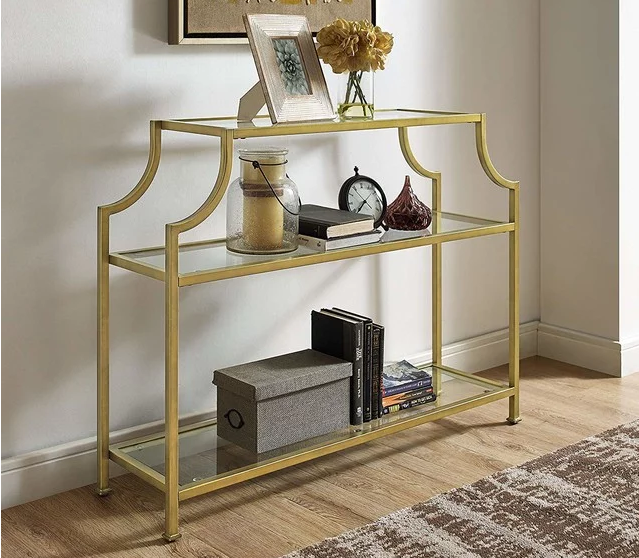 Aimee Glass Console Table 168.64 $
